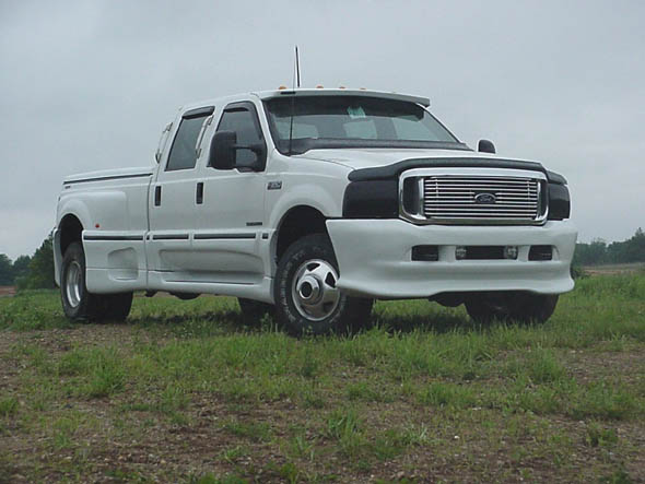 Ford F350 Dually Custom. Ford F350 Crew Cab Dually 1999