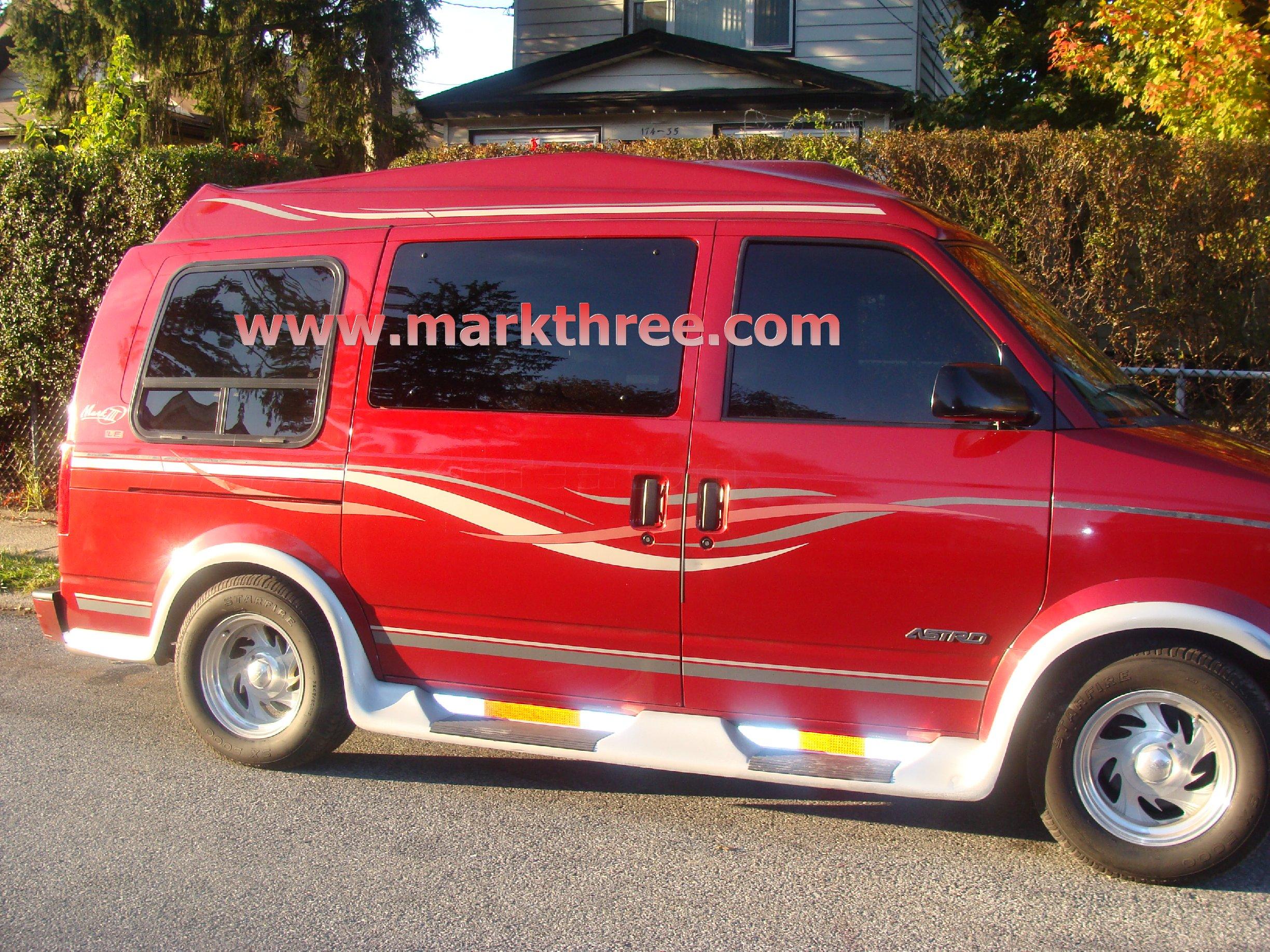 Chevrolet Astro 7 GMC Safari Van Running Board